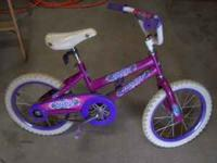 "Have a nice little 16"" bike for a girl, bike is in good"