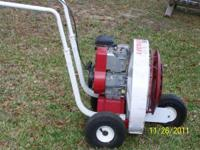 Lil Wonder push blower with 5 hp engine, low hours and