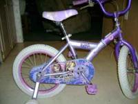 I HAVE FOR SALE A LIL GIRL 16 INCH BRATZ BIKE ASKING