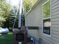Houses, mobile homes or shops can heated with one of