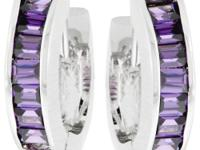 Check out these Lilac Circlet Earrings on
