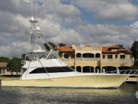 LILO is a 61 Viking 2005 with a three stateroom, three