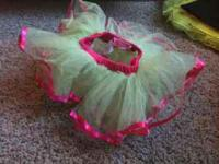 I am selling this lime green and hot pink tutu for $7