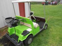 Yamaha golf cart, 4 stroke engine runs well and only