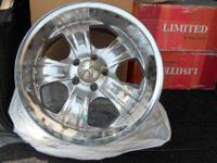 """Limited Alloy Chrome Rims 18"""" model #A706 All Limited"""