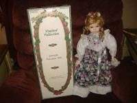 Porcelain Doll in original box, Cherie. This is a 22""