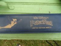 This is a limited edition Animated Peter Pan Watch.
