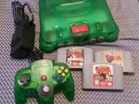 N64 console, everything works fine, just selling before