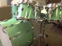 These drums are in excellent condition. They have clear