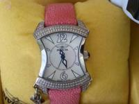 REALLY PRETTY STINGRAY STRAP IN HOT PINK WITH MOTHER OF