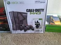 I'm selling a limited edition Call of Duty MW3 Xbox 360