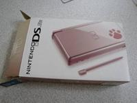 I have a Nintendo DS Lite Metallic Rose Limited Edition