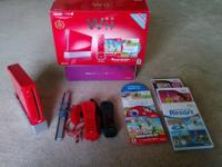 I am selling my limited edition red Wii. I do not have
