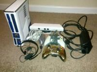 I have a limited edition Star Wars XBox 360 for sale.