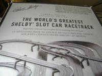 Limited Edition Super Rare Shelby Slot Car Racetrack.