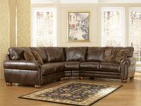Retails: $1788Our Cost: $999 Consists of: Sectional