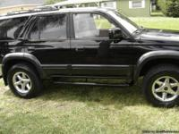 TOYOTA LIMITED EDITION 4RUNNER 4WD-4X4 TOYOTA 4RUNNER