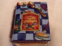 French Hand Painted Porcelain Boxes. 55.00 each, going