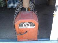 Lincoln 225 Amp Arc Welder. Just plug it in and weld.