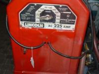 Lincoln Welder is being sold. Comes with long hose.