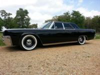 You are looking at a classic 1961 Lincoln Continental