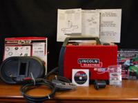 LINCOLN ELECTRIC 125HD WELD-PAK WIRE FEEDER WELDER -