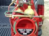Lincoln Electric (Port-A-Torch) Acetylene Torch Kit.