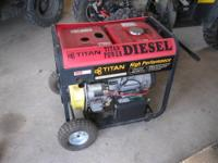 lincoln weldenpower 225/210 ac dc+/dc- welder runs and