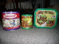 Selling 2 containers of Lincoln Logs - Tumble Tree