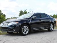 Beautiful 2009 Lincoln MKS in Dark Ink Blue Metallic on