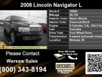 Call Warsaw Sales at -LRB-800-RRB-343-8194. Automobile