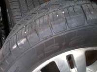 I have 4 tires n rims 4 sale r 80% good the rims r 20""