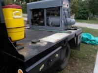iv got a road ready pipeline welder and welding bed,