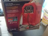 lincoln stick welder brand new in box and cart brand