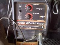 SP-135 Plus ... with welding Helmet, Blanket and Gloves