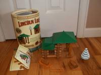 Lincoln Logs Winter Woodlands Building Set. Great CLEAN