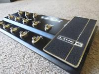 Up for sale is my Line 6 FBV shortboard control pedal.