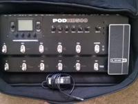 POD HD multi-effect pedals are built world-tour-tough