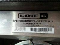 Im selling my Line 6 Spider 2 30w Guitar Amplifier. Its