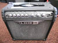 FOR SALE A LINE 6 CRAWLER 3 AMP. THIS AMP IS A 15WATT
