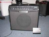 line 6 spider 4, 75 watt guitar amp with fvb2 switch, i