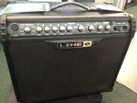 Line 6 Bot III 75 Watt 1x12 Combo Amplifier.  - It has