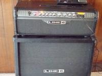 This is a Line 6 Spider III halfstack with FBV Express