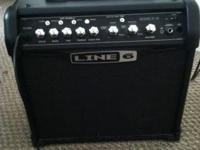 I'm selling my line 6 spider IV 15 amp. Everything