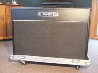 Amp, foot controller and roadway case! Originally