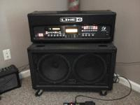 For sale is a Line 6 Vetta II HD guitar amp with an