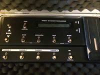 Line 6 pod and floorboard in new condition just don't
