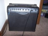 I have a line 6 spider III combo 30 watt w/ built in