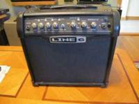 Line 6 Spider IV 15 Guitar amp loaded with features.