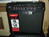 FOR SALE, LINE 6 AMP SPIDER IV 4, 15 WATTS AMP, THIS IS